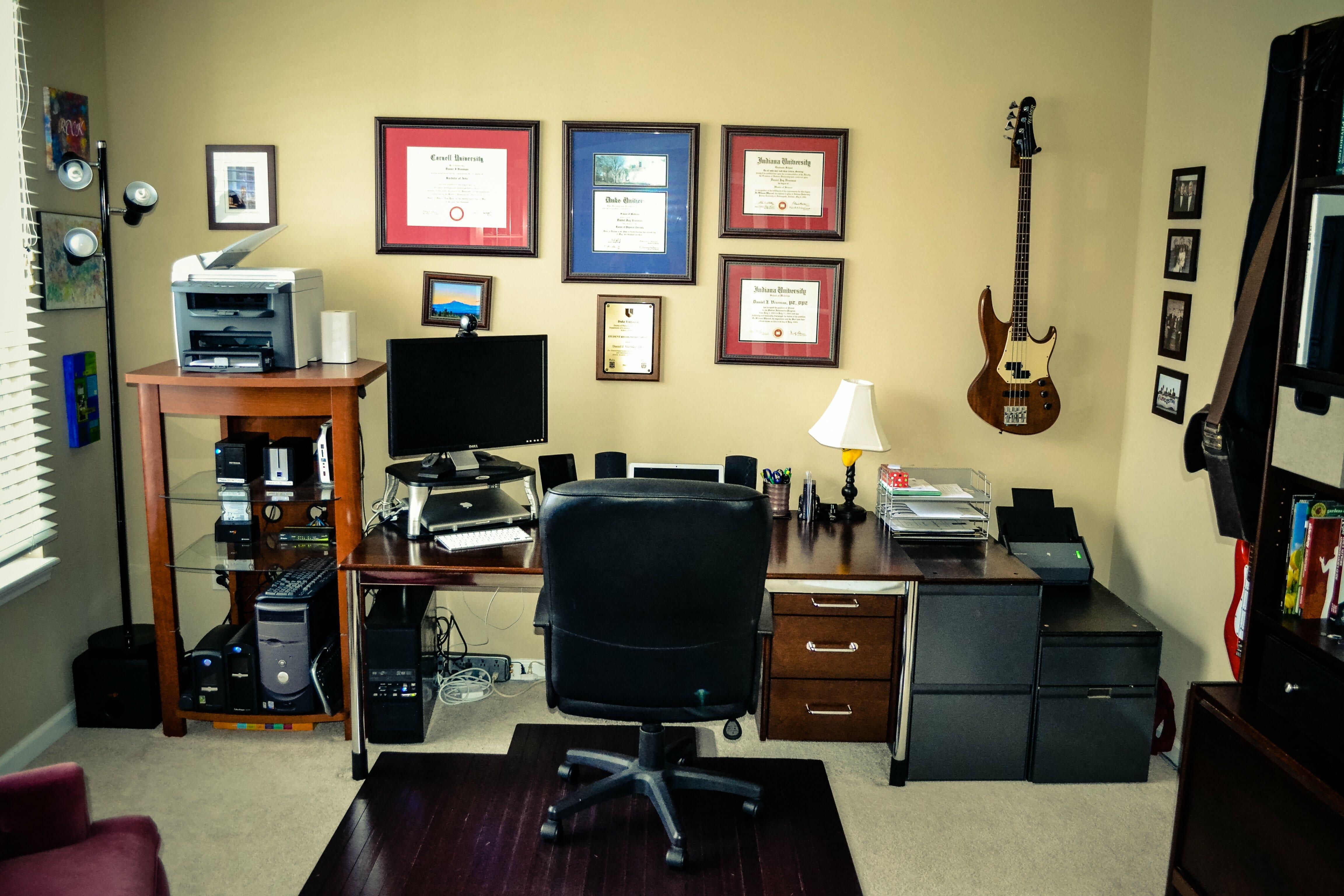Merveilleux 20140125   09 10 48   01   4608 X 3072. Home Office ...