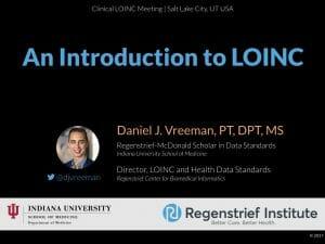 An Introduction to LOINC: Clinical LOINC Version