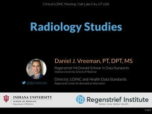 LOINC Tutorial: Radiology Studies