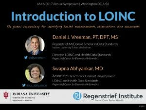 An Introduction to LOINC: AMIA 2017 Version