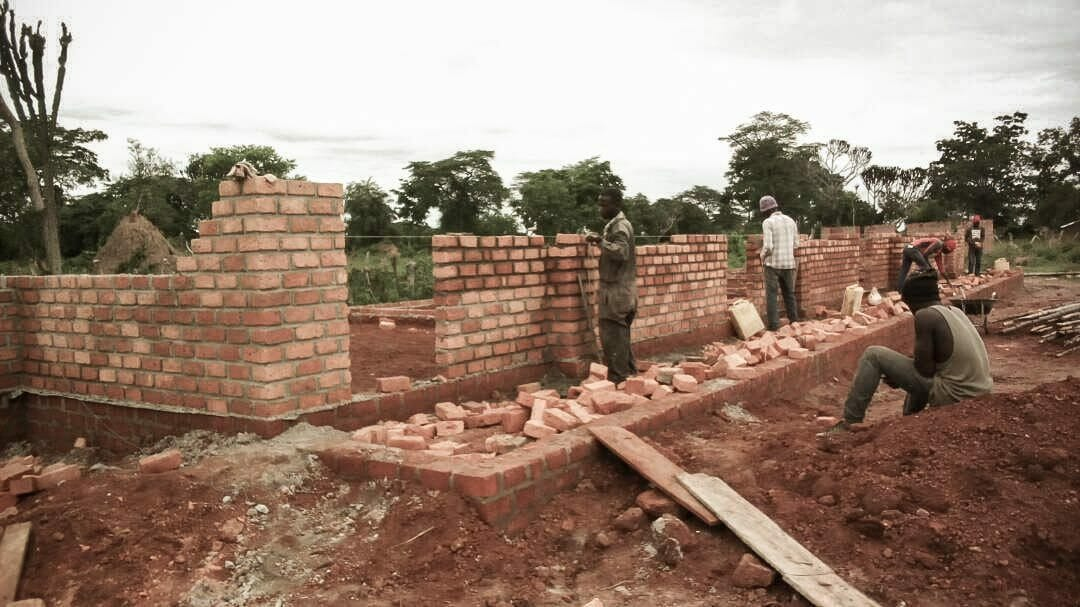 School construction is underway in Mwiguru!