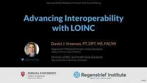 Advancing Interoperability with LOINC