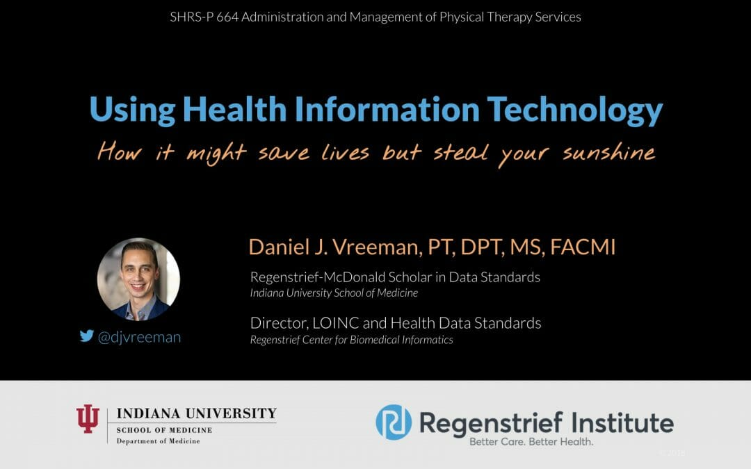 Using Health Information Technology