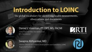 An Introduction to LOINC: AMIA 2019 Version